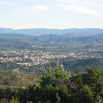 Arezzo from teh Villa