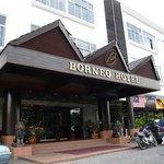Borneo Hotel - Entrance