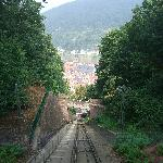 Funicular railway to the Castle