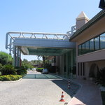 Pegasos resort main entrance