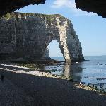 France/Fecamp/Normandie/Hotel La Ferme - and more cliffs - ETRETAT