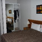 upstairs loft bed area