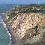 View of Totland Bay from the Needles Battery