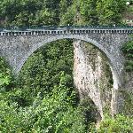 Le Pont Napoléon à Luz