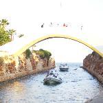 The Bridge Looking Over The Marina