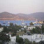 il panorama dal nostro terrazzo