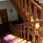 Staircase of hotel