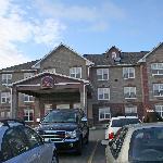 The hotel eterior