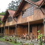 The wooden chalet