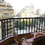 Terraza vistas laterales al Nilo