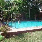 The pool at Ankur Resort.