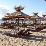 Hotel Admiral, paid beach