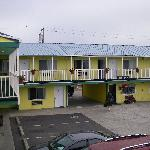 cute little yellow motel