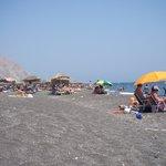 The beach at Perivolos