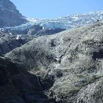 The Rosenlaui glacier up the hill