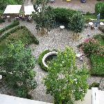 The Garden below.