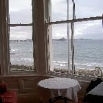 the view towards St Michaels Mount