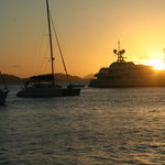Sunset in the BVI