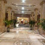 fancy lobby hallway