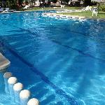 la piscina sin trampa ni carton