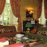 Il salotto per gli ospiti