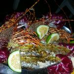 langoustini - finger liking food
