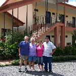 us and the owners, Melania and Gilbert