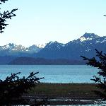 View from our room across Kachemak Bay