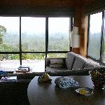 View from Kitchen through Living Room