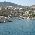 Backinto Kalkan from the Gullet cruise