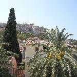 Una de las vistas desde la terraza de desayuno del Hotel