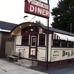 A front view of the Day & Night Diner.