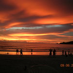 Glorious sunset from Patong Beach