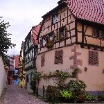 Half-timbered houses in Eguisheim