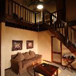 Lofted Suite from living area
