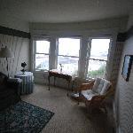 Bedroom suite sitting room
