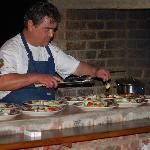 Der Chef am Grill