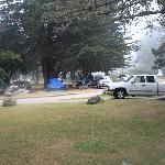 View of Plaskett Creek Campground