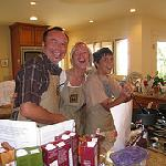 Mike Jr., Aggie & Nic
