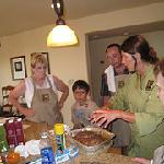 Learning to cook with Jodi!  What FUN!!