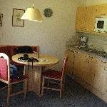 Apartment kitchen/dining area