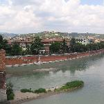 View from Castelvecchio bridge