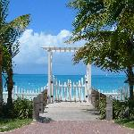 Gate to the beach