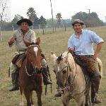 My favorite photo of our guides - Don Juan and Matias