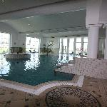 One indoor and two outdoor pools and exercise rooms