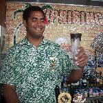 Arhcie the bartender