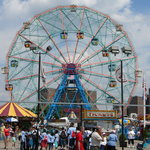 Wonderwheel at Astroland 2008