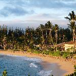 Napili beach, nice friendly atmosphere