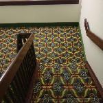 Las Vegas style carpeting