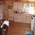 White Pine kitchen